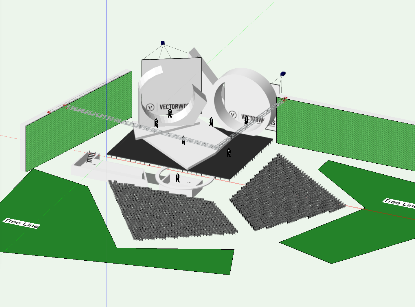 VW 3D render Geom inspire shapes