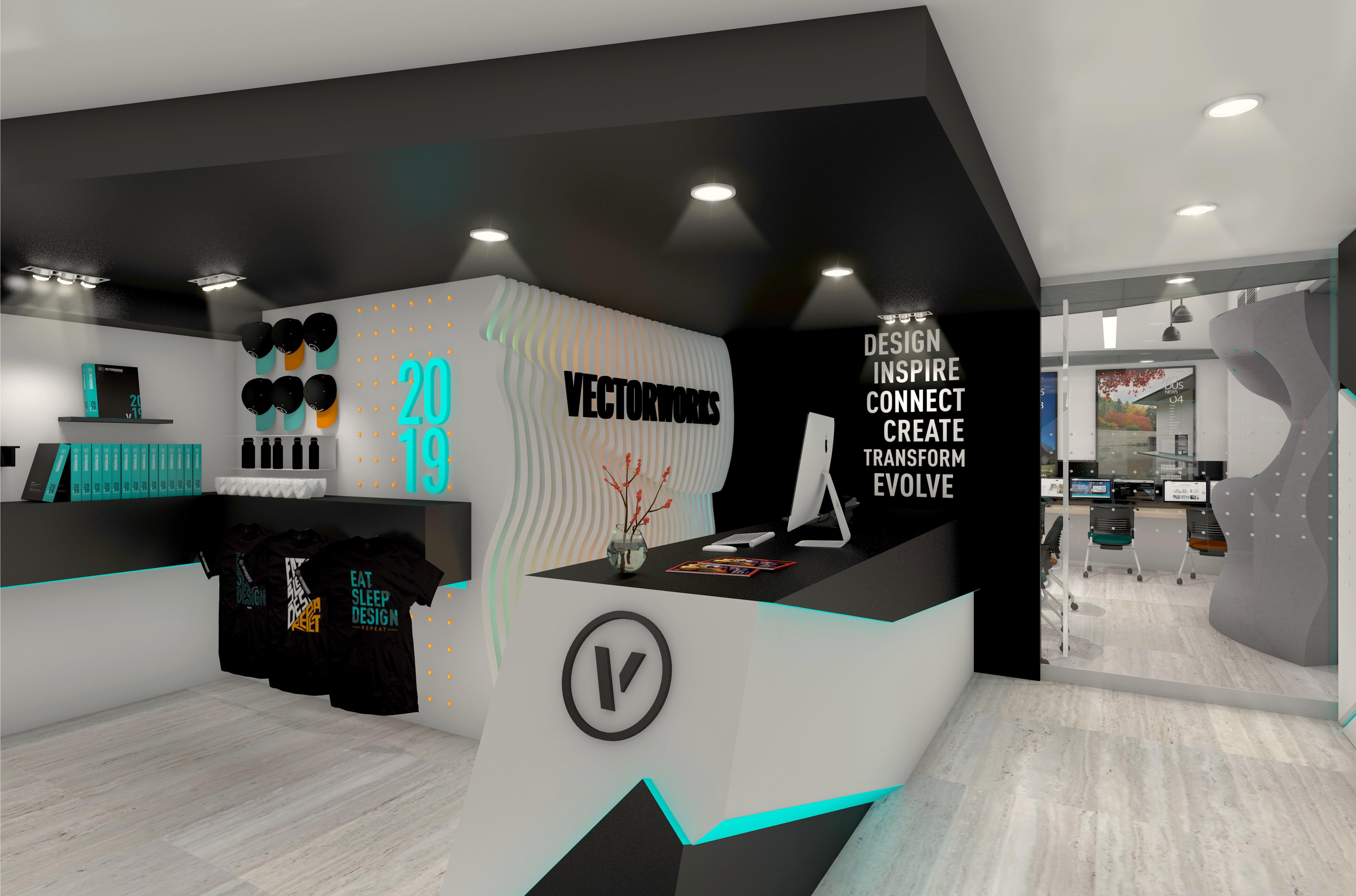 VWX Store-Front Desk