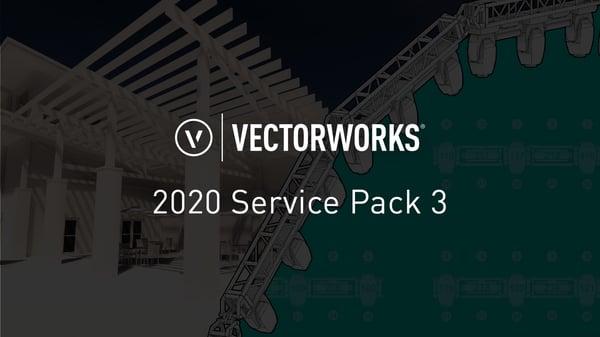 vectorworks 2020 sp3
