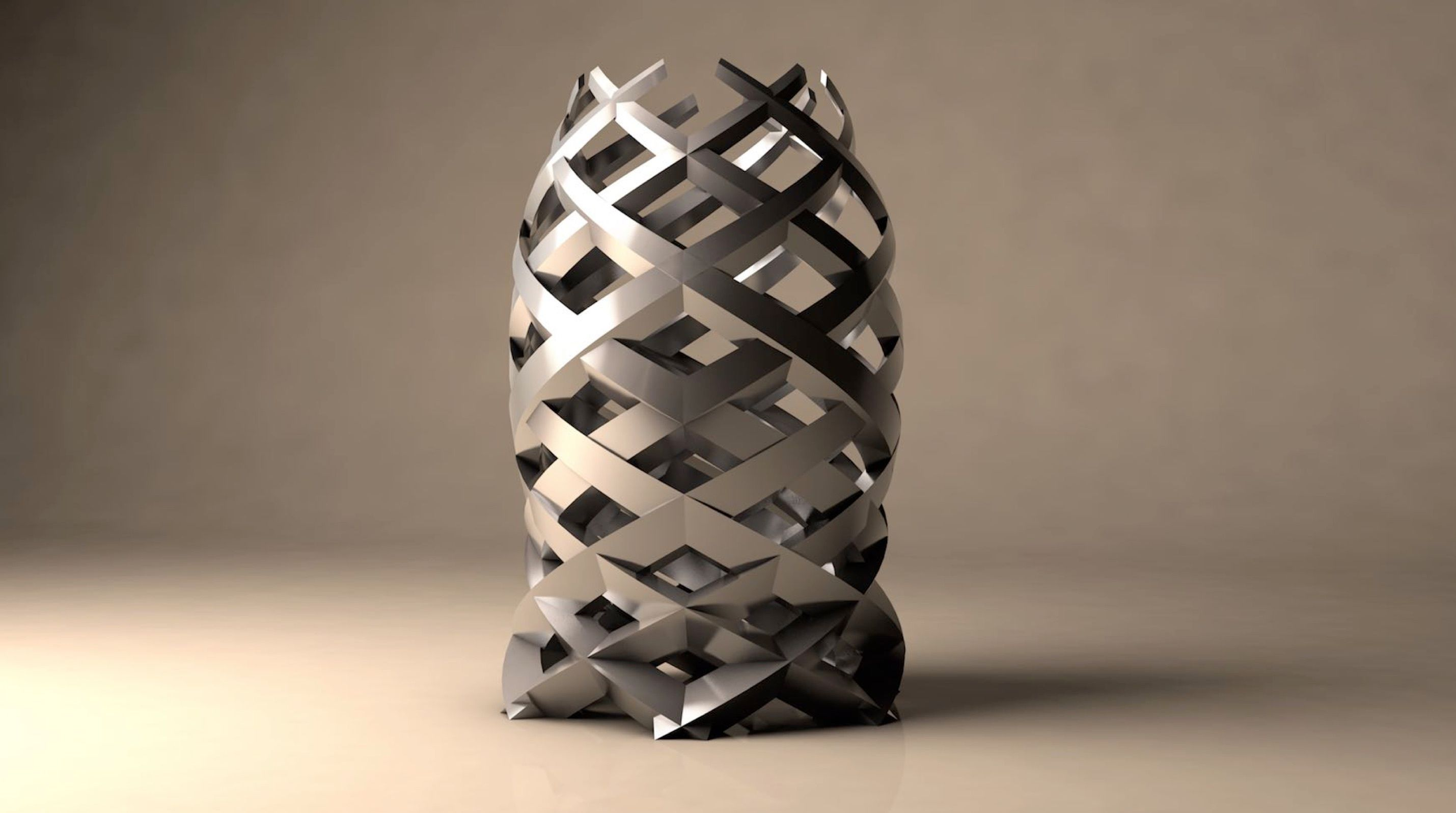 unique shape created with NURBS modeling