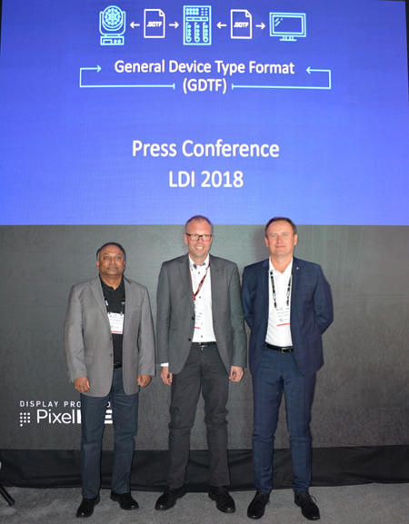 GDTF press conference