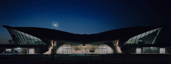 TWA Terminal by Eero Saarinen (Photo: Ezra Stoller/Esto)