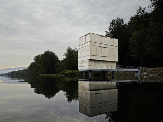 Zielturm Rotsee Photo by Valentin Jeck