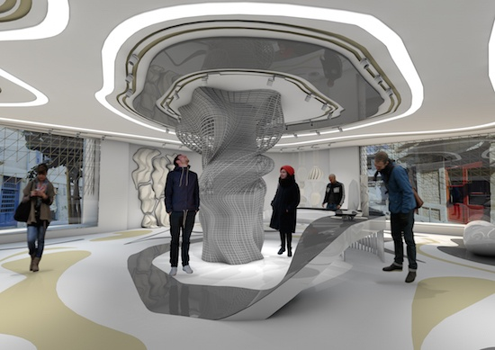 "Vronti's design for ""The 3D Printing Innovation Centre."""