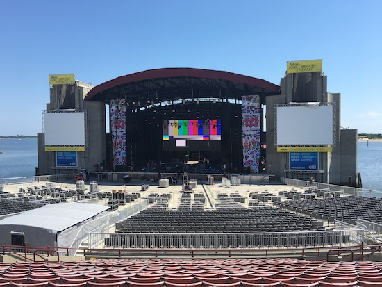 Nikon at Jones Beach Theater on Long Island, New York, the site of the Billboard Hot 100 Music Festival.