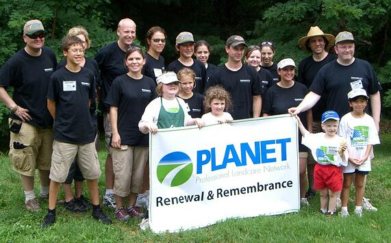 NNA employees participate in PLANET's Renewal & Remembrance project.