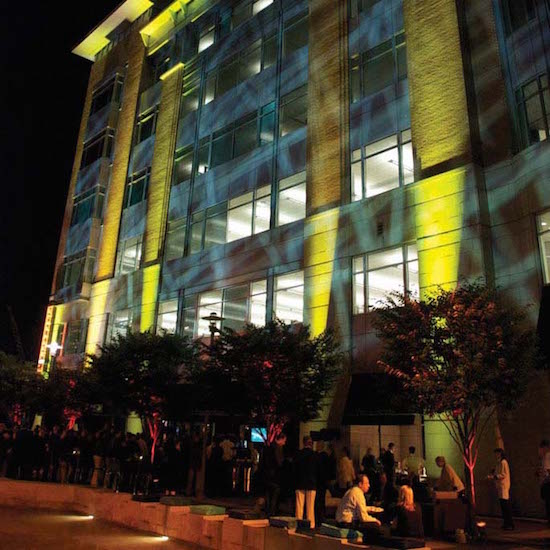 Event lighting by Tyler Littman. Image courtesy of Sholight, LLC.
