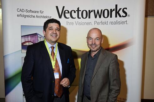 Carlos Lüthy, CEO of ComputerWorks GmbH, and Professor Amandus Sattler