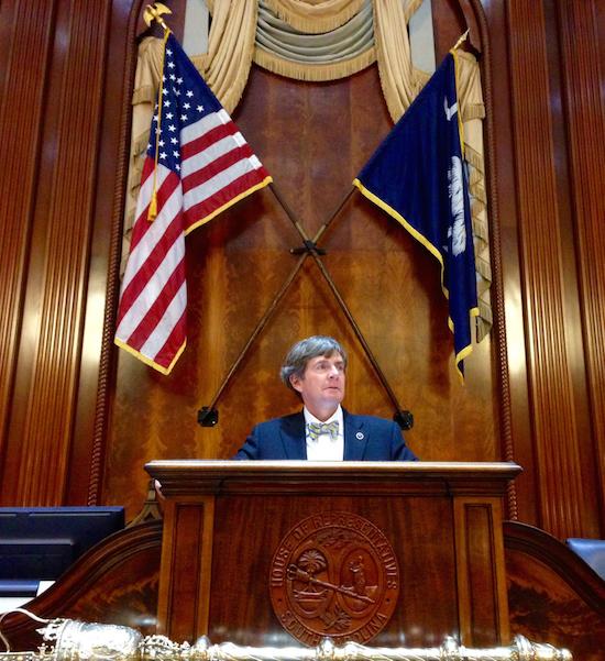 Duckworth at the South Carolina House of Representatives.