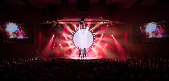 everything we do is to empower the people of the church to do ministry worster says we have a lot of lighting elements youd find in a concert - Church Of The Highlands Christmas