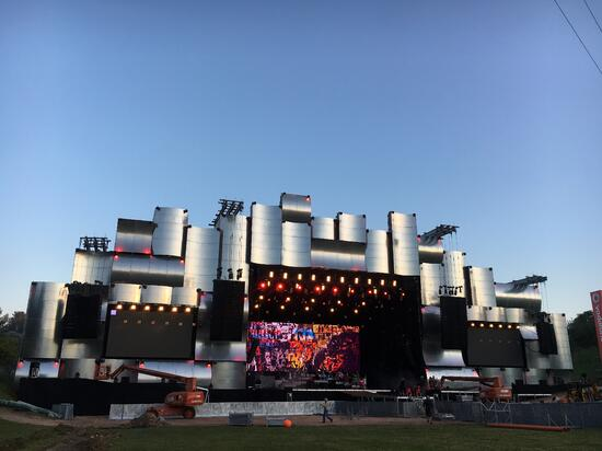 The Rock in Rio main stage is ready for 10 days of incredible music.