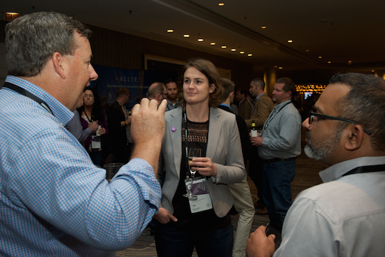 Be sure to listen attentively to anyone and everyone you meet at networking events.