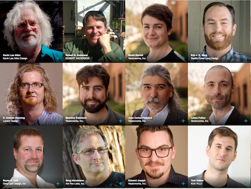 A sampling of the speakers for this year's Vectorworks Design Summit.
