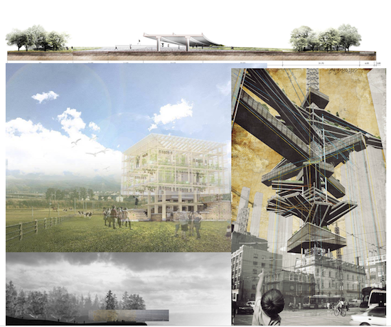 Winning designs from previous years of the Vectorworks Design Scholarship.