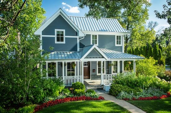 Slotnick House rendering by Nathan Kipnis