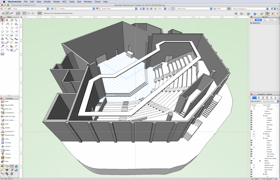 you ve modeled how it looks but how will it sound rh blog vectorworks net Vectorworks Architect Wall Section Vectorworks Architect 2015