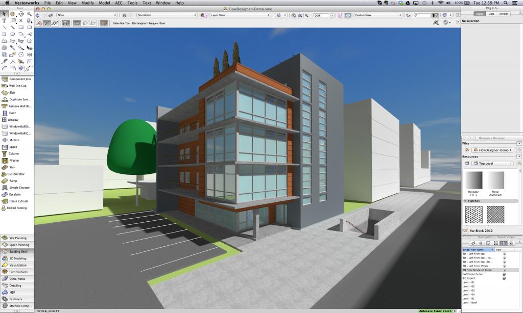 vectorworks and flowdesigner open bim collaboration with airflow rh blog vectorworks net Vectorworks Architect 2014 Vectorworks Architect vs AutoCAD Architecture