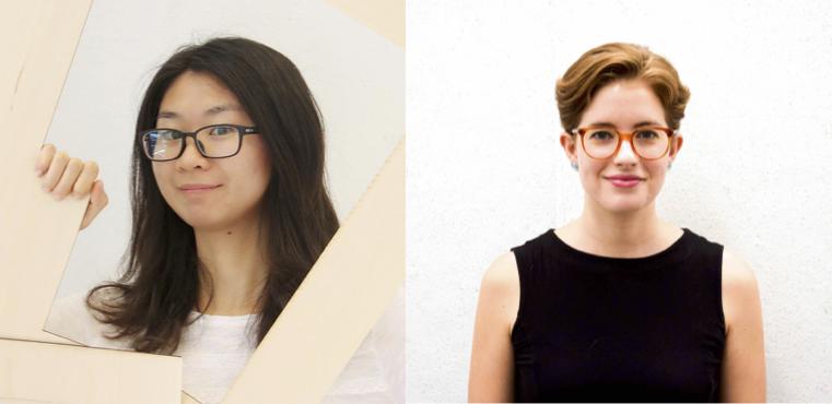 From L to R: Cheng and McNamara, Richard Diehl Award winners