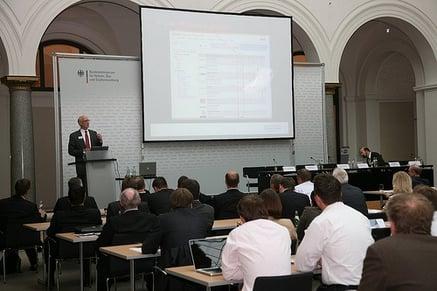 BuildingSMART conference in Germany, Robert Anderson speaking