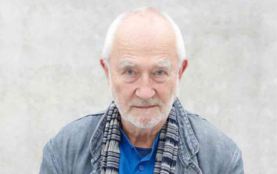 Photo of Peter Zumthor by Martin Mischkulnig.