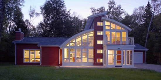 Kipnis Architecture + Planning's Sturgeon Bay Home