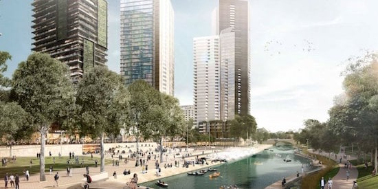 McGregor Coxall's Parramatta River Urban Design Strategy