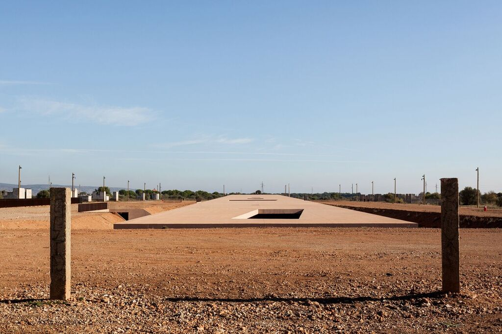 The exterior of the Rivesaltes Memorial Museum. Photo by Kevin Dolmaire.