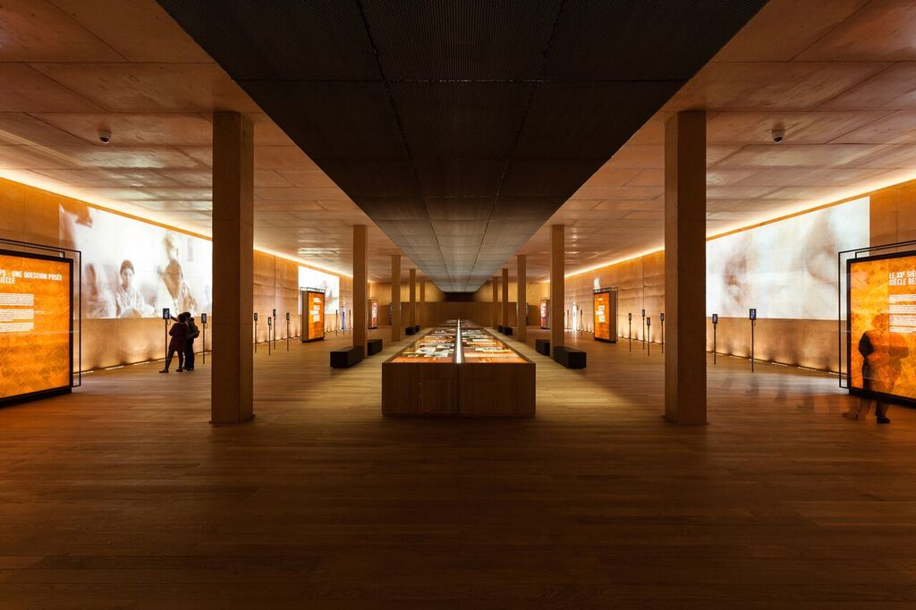 The Rivesaltes Memorial Museum interior. Photo by Kevin Dolmaire.