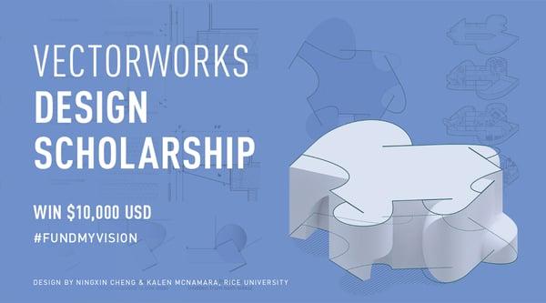 Vectorworks Design Scholarship 2019 image
