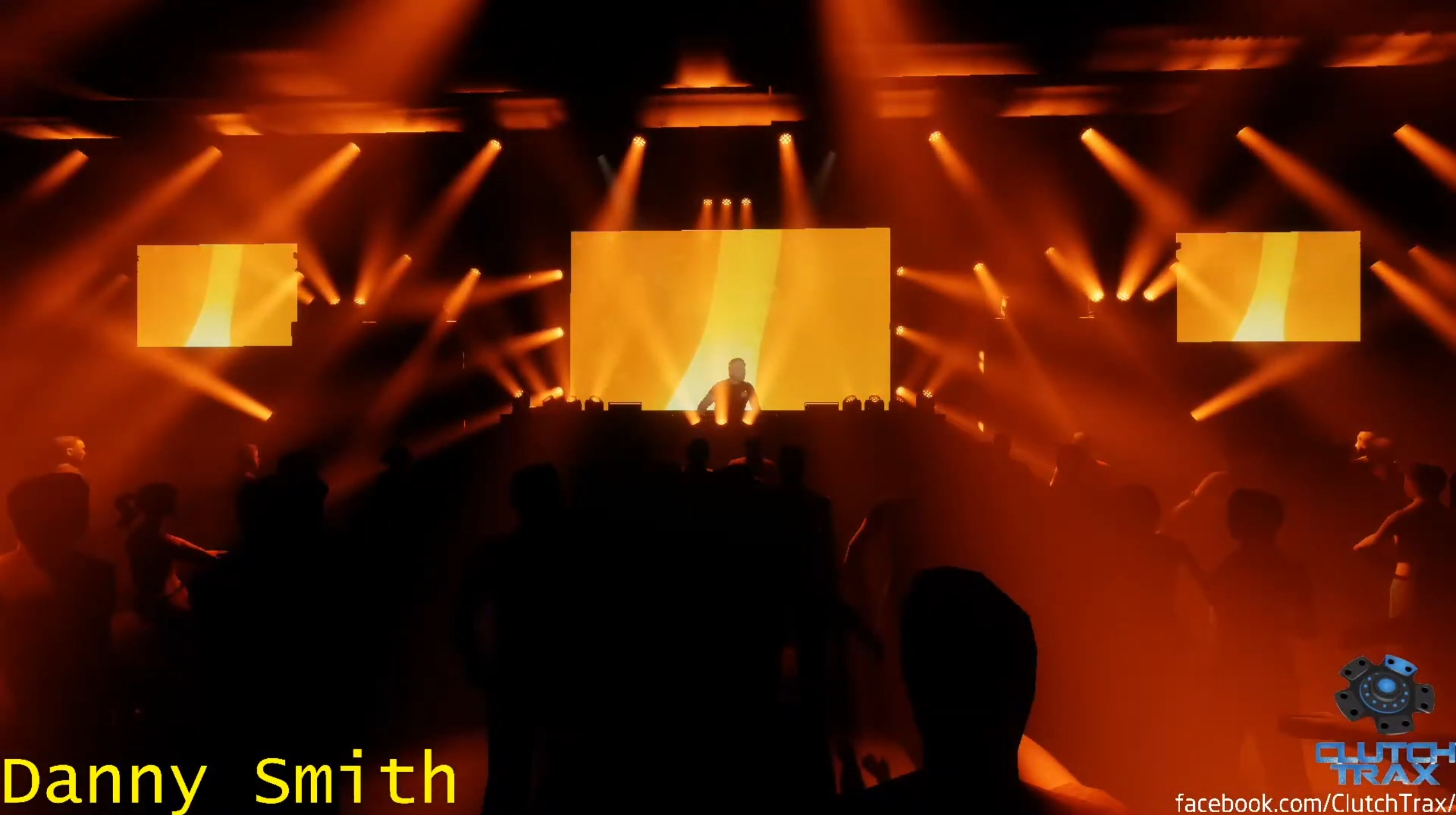 A DJ is virtually added to the main stage of the virtual club, surrounded by orange lighting effects as he performs.