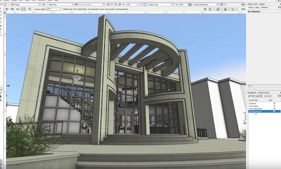 planet vectorworks architecture